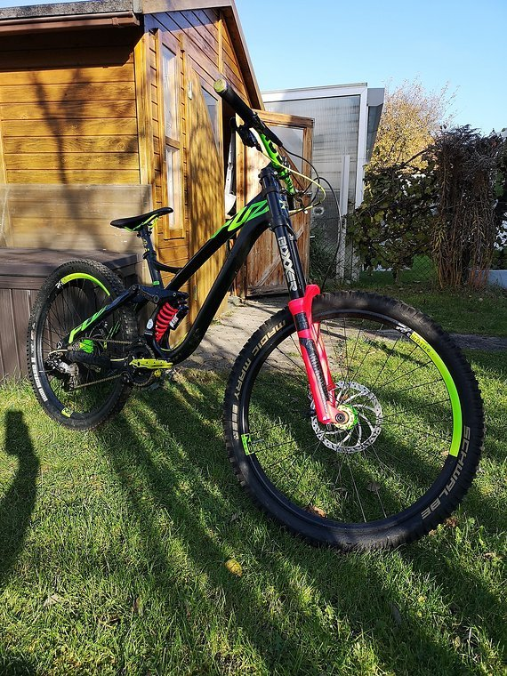 Ns Bikes Fuzz Custom 2016 Fuzz 650B DH Gr. M