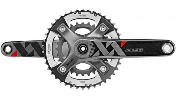 SRAM XX Carbon Kurbelsatz 2x10F  170mm