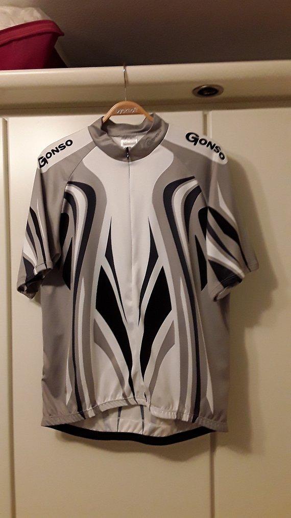 Gonso Radtrikot silber/grau/anthrazit XL (52)