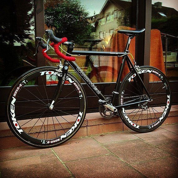 Quantec Race SL Rennrad RH 57cm Mavic Ultegra Kuota Carbon