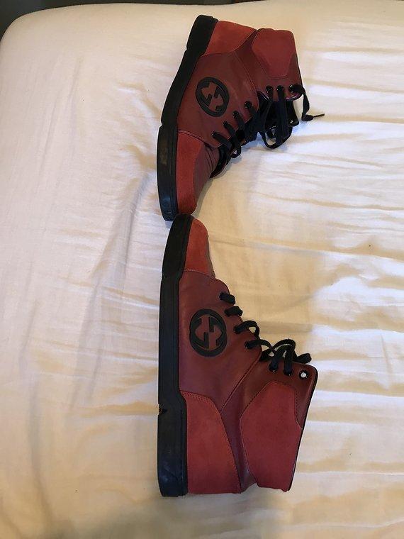 Original Gucci Schuhe Aus Leder Große 10 In harburg