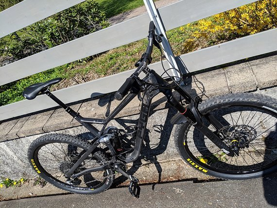 Pyga HYRAX Carbon / Mod. 2018 / Gr. L / black
