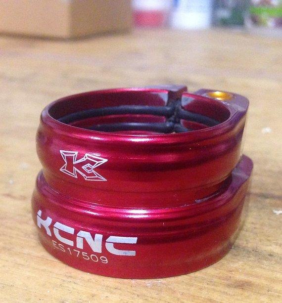 Kcnc Twin Clamp Sattelklemme 34,9/31,6