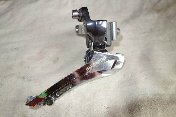 Shimano Umwerfer FD-CX70 2-fach down pull - wie NEU