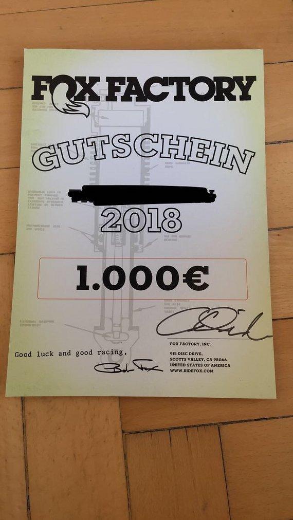 Fox Gutschein