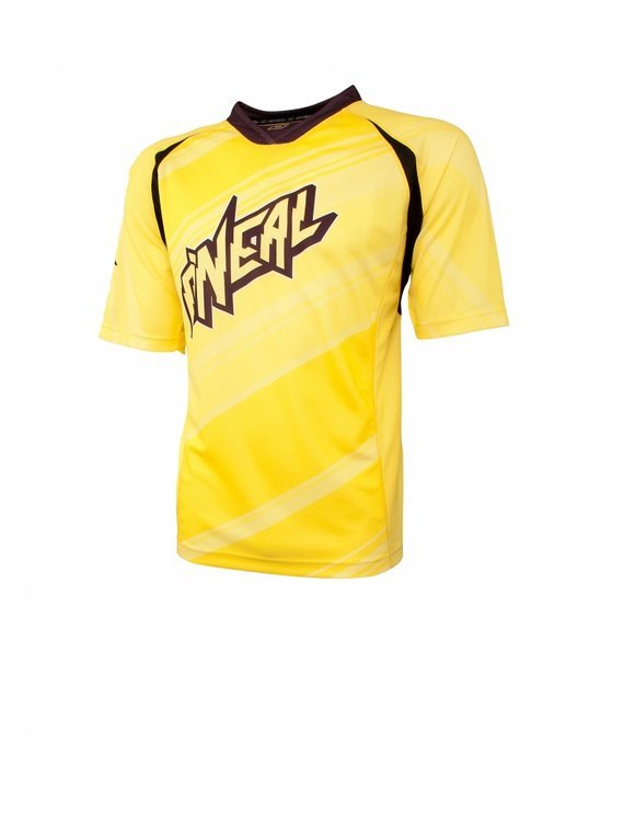 O'Neal Helter SkelterSleeve Kurzarm Jersey M Yellow Gelb