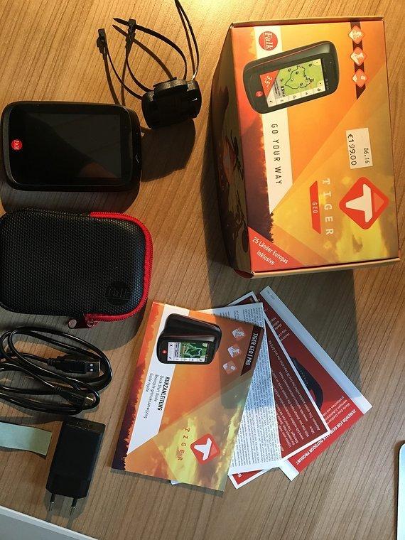 Falk Tiger Geo Fahrrad GPS-Navigationsgerät