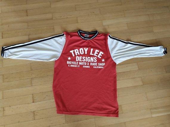 Troy Lee Designs Super Retro Jersey rot/weiß, S