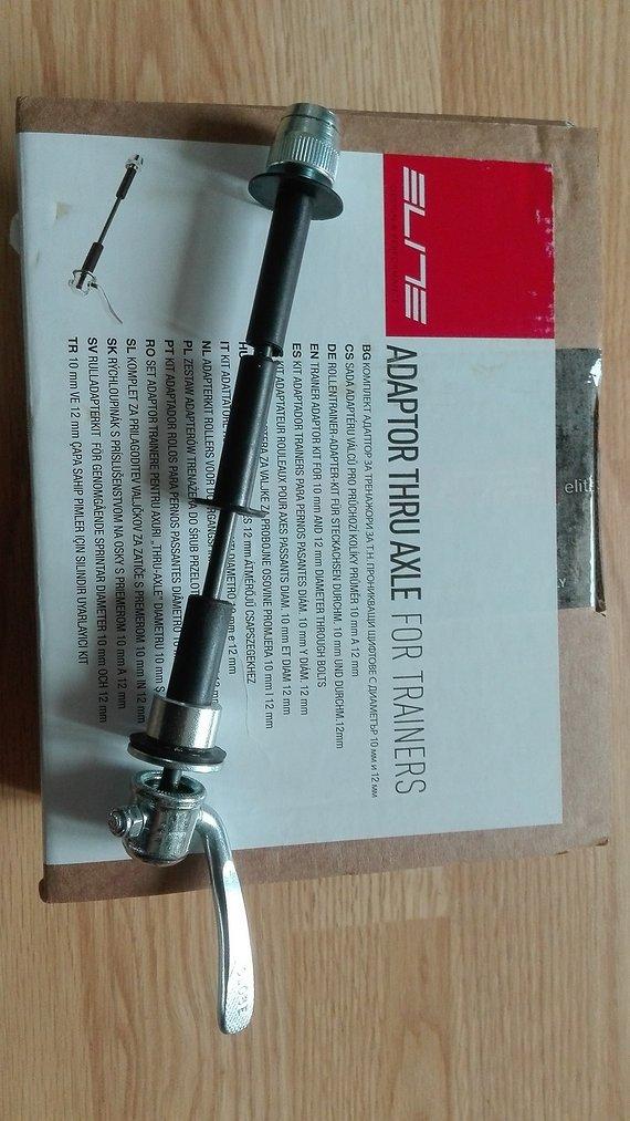 Elite Steckachsadapter 10/12mm  für Heimtrainer