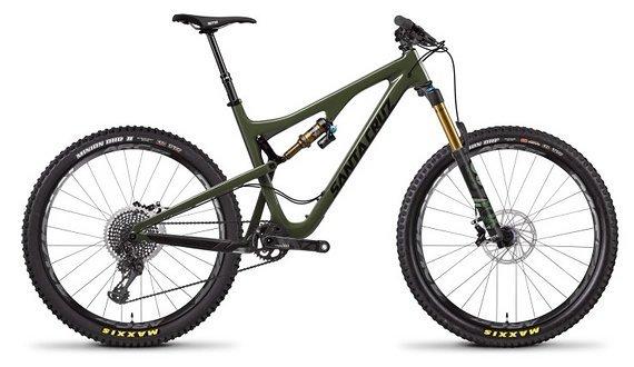 Santa Cruz Bronson 2.1 CC XX1 Green M PREISUPDATE