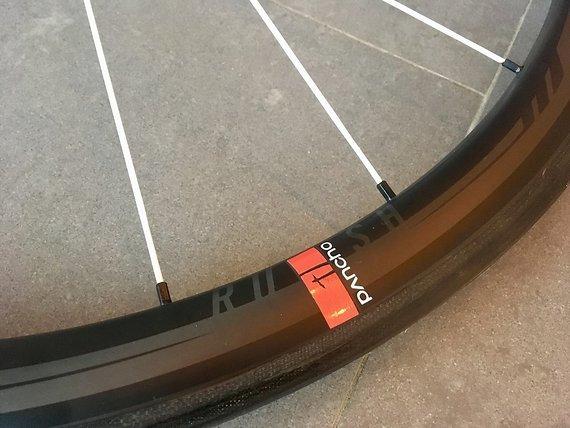 Panchowheels Dt Swiss Panchowheels Rush 38 Tubular Carbon Laufradsatz