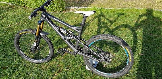 Liteville LV 601 MK2 190mm L raceblack Rahmen