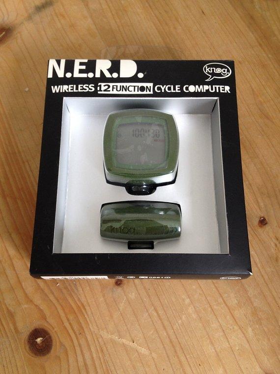 Knog ,  N.E.R.D. NERD, Cycle Computer, Wireless 12, Tacho