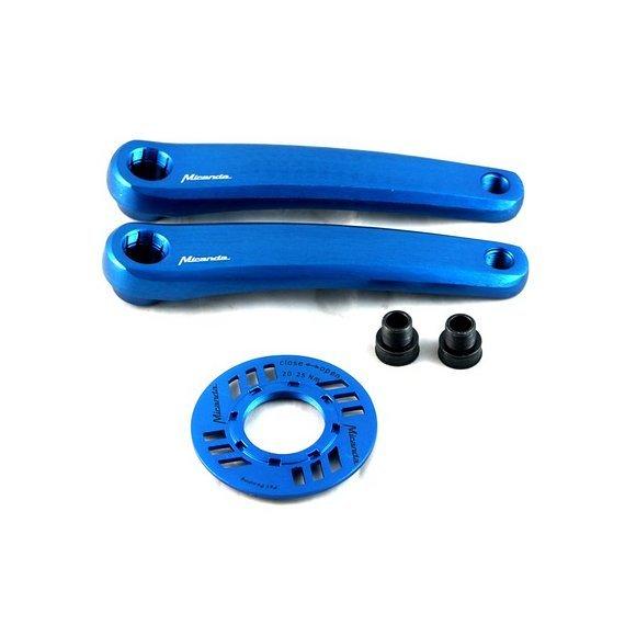 Miranda Kurbel Miranda Delta 0 Double Diamond blau E-Bike Bosch ISIS Alu 172,5mm M15