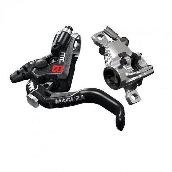 Magura MT8 PRO, 1-Finger HC-Hebel, links/rechts verwendbar, 2.200 mm Leitungslänge, Set VR+HR, Modell 2019