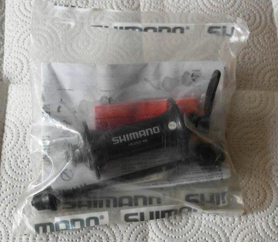 Shimano HB2200 VR Vorderrad Nabe 100mm 36-Loch mit Schnellspanner