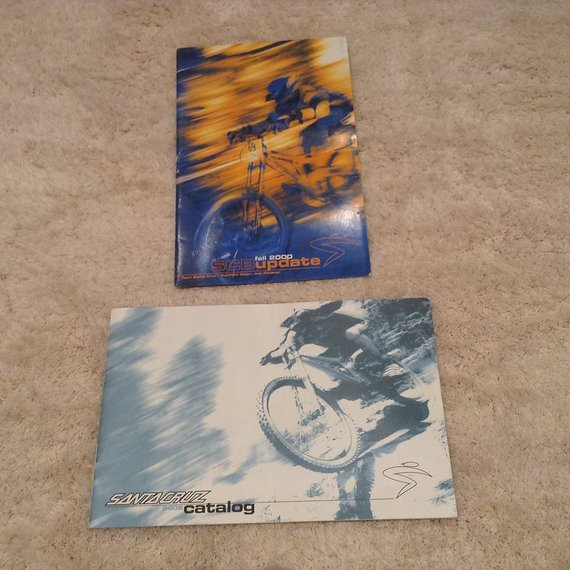 Santa Cruz Original Kataloge aus 2000 + 2002