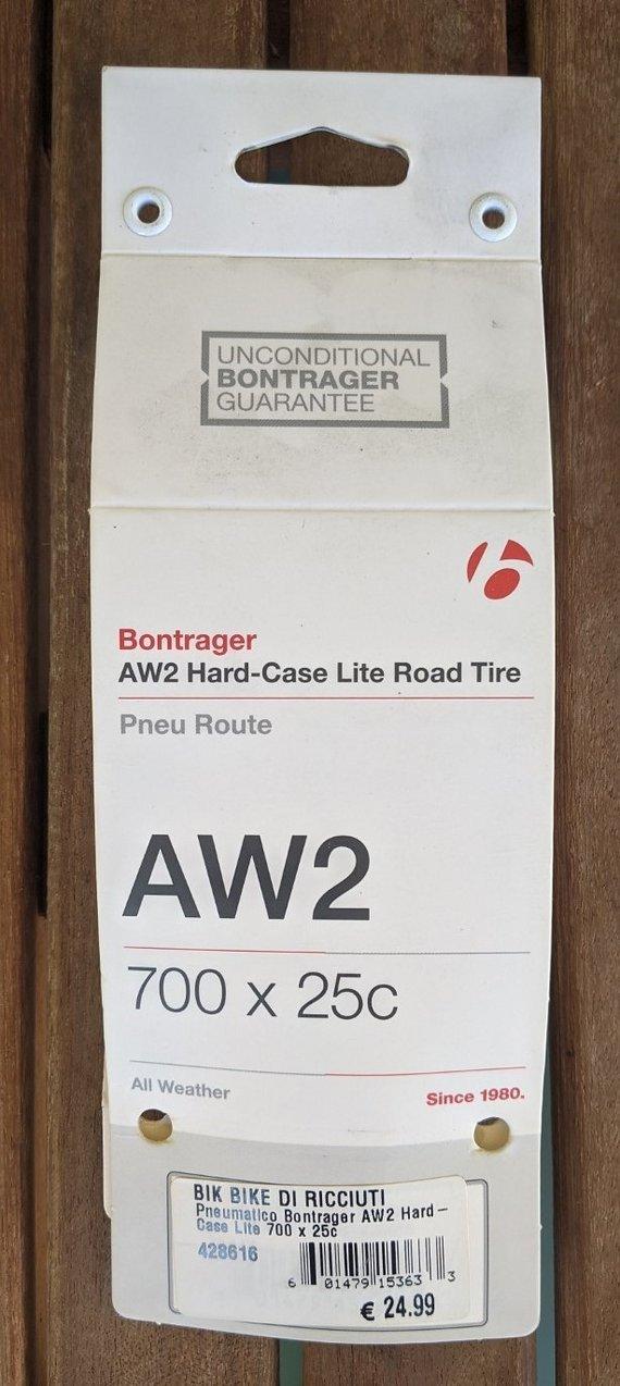 Bontrager AW2 Rennrad Reifen 700x25