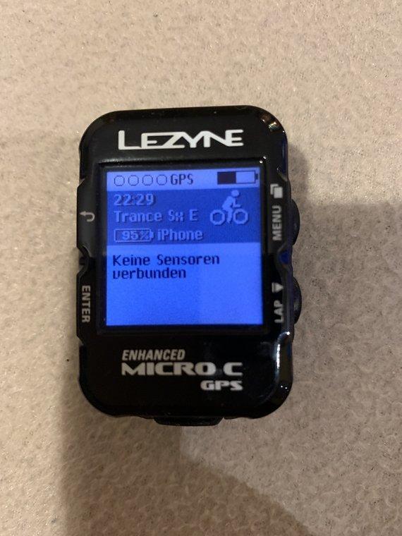 Lezyne Micro Color Navi Fahrradcomputer Tacho