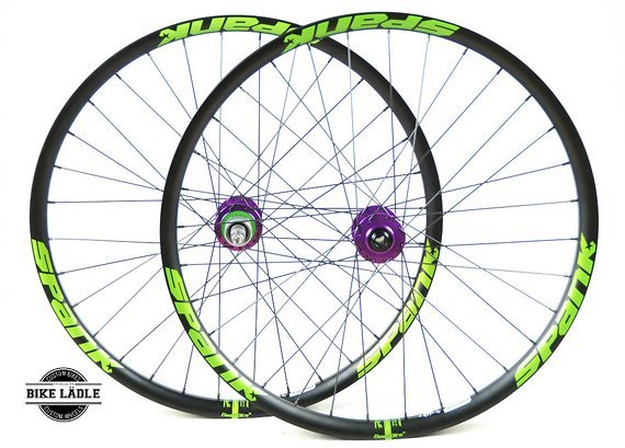 Spank Spike 33 Race/Team Singlespeed Laufradsatz mit Hope Pro 4 Naben / Bike-Lädle Laufradbau