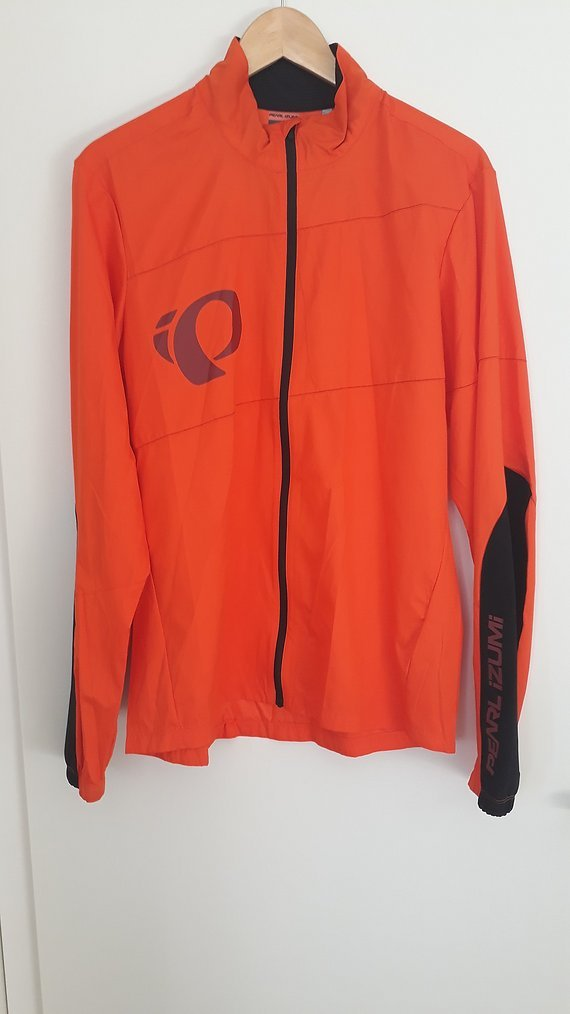 "Pearl Izumi MTB Barrier Jacket in orange ""M"", NEU!"