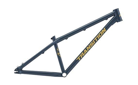 Transition Bikes Dirtjump Rahmen PBJ 2020, Farbe Blau