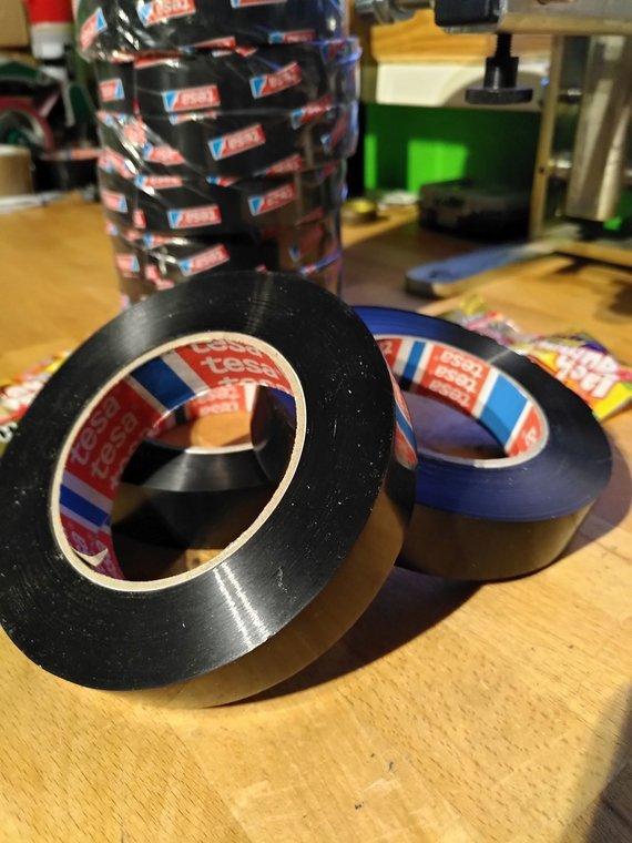 Tesa® 4288 Tubeless Felgenband á 1 Rolle 25mm/66m Für Maulweite 22-40mm