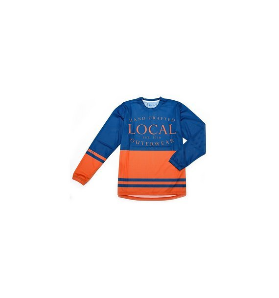 Local Outerwear Jersey RETRO Snorkle-Blue-Orange M-L  MTB-BIKE UVP69€
