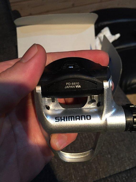 Shimano Ultegra Pedale PD-6610 - neu unbenutzt