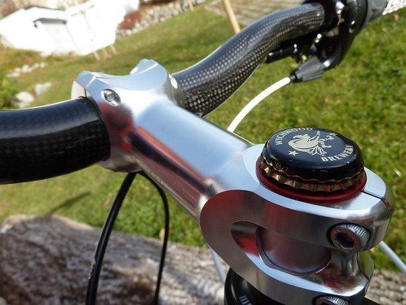 """La Strega Custom Bike """"Ahead Kron Kapp"""" Kronkorken Ahead Kappe 1 1/8"""" nur 6,9g,"""