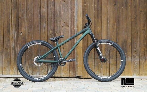 Dartmoor Two6Player Custom Dirt / Street Pumptrack-Bike Rock Shox Pike DJ, Spank Spoon 32 ,Sram GX, Kenda
