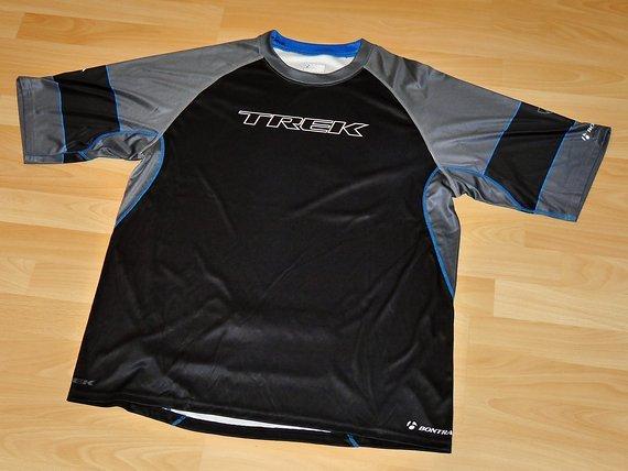 Trek Fahrradtrikot Trikot Jersey Freeride Downhill schwarz grau XL