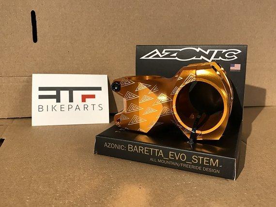 Azonic Baretta EVO FAT35 Vorbau orange *NEU*