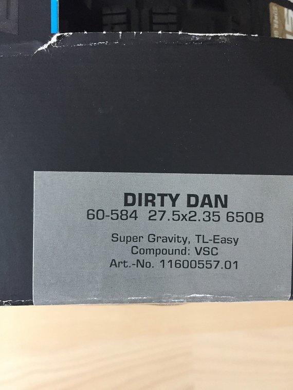 Schwalbe Dirty Dan 27,5x 2,35 auch Tausch