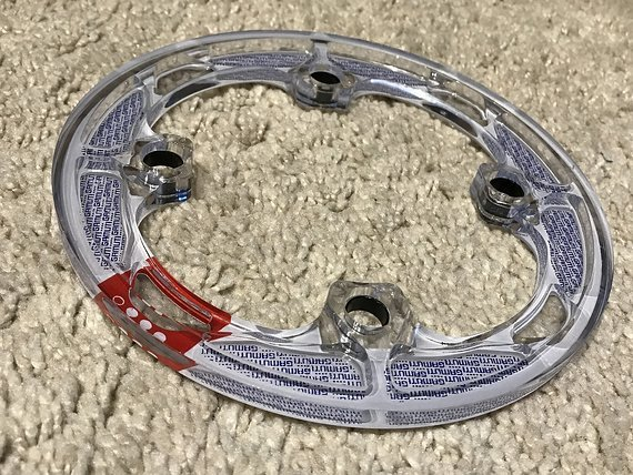 Gamut Bashguard Polycarbonat 104mm Lochkreis *NEU*