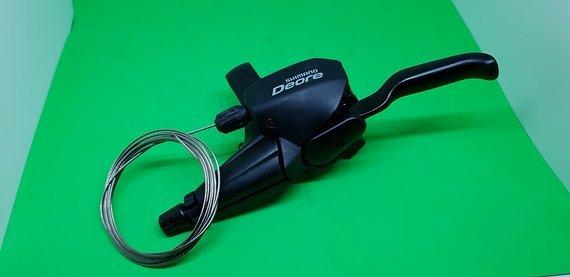 Shimano Deore Dualcontrol Schalthebel V-Brakes 3fach links