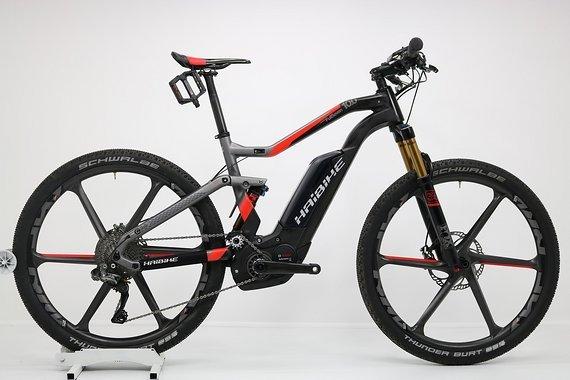 Haibike XDuro FullSeven Carbon 10.0, Rh 45 cm, 17,5 kg