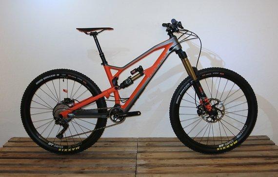 "Nukeproof Mega 275 Factory Carbon  2018 Komplettbike 27,5"" - Größe M"