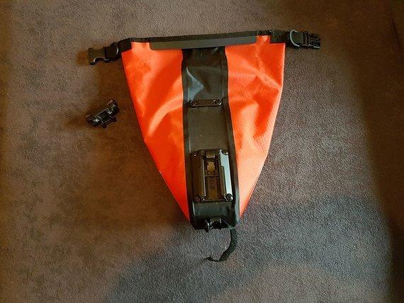 Ortlieb Saddle-Bag L (2,7l) ROT wie neu!