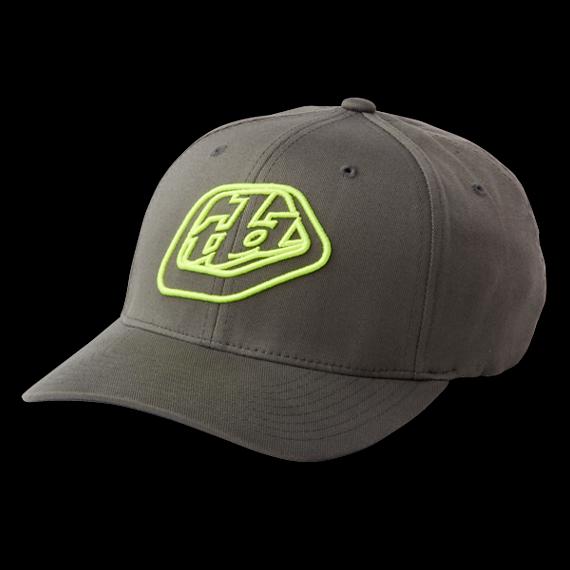 Troy Lee Designs Gr. L/XL ALWAYS HAT GRAY/YELLOW