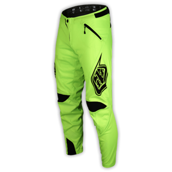 Troy Lee Designs Gr. 32 SPRINT PANT HOSE SOLID FLO YELLOW