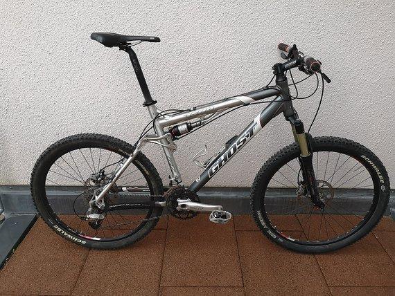 Ghost RT 7500 Fully, 100mm, XT, RH 52