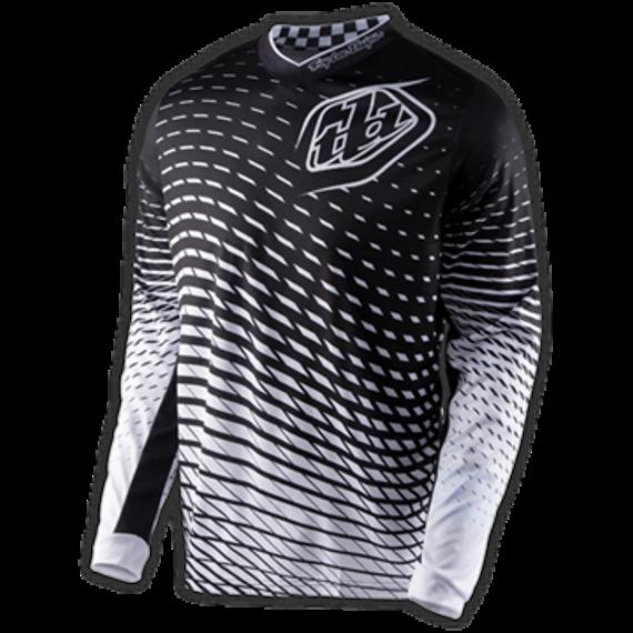 Troy Lee Designs GP JERSEY TREMOR BLACK/WHITE Gr.S NEU