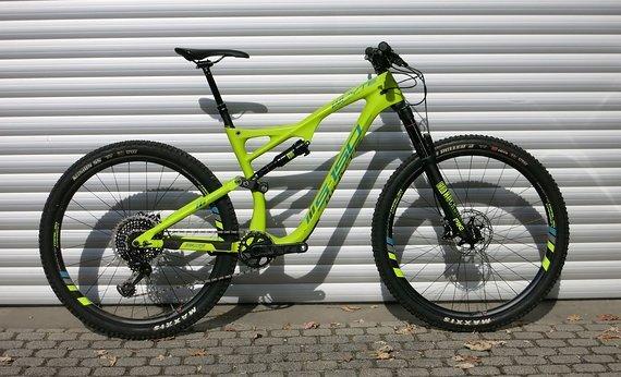 Whyte Bikes S-150C Works Enduro Allmountain Bike Carbon 2019 - TESTBIKE Größe L