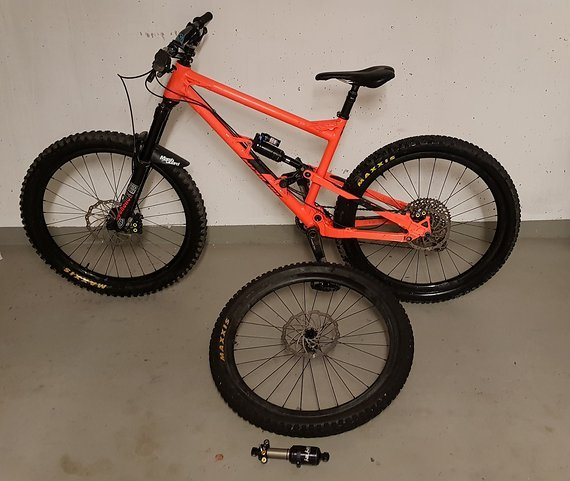 "Nicolai ION 16 27,5"" Gr. L, XX1/XO1 Eagle, Carbon LRS, FAST suspension 3-way factory kit"