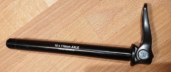 Fox Schnellspanner QR15 für Fox 36 110 Boost Steckachse