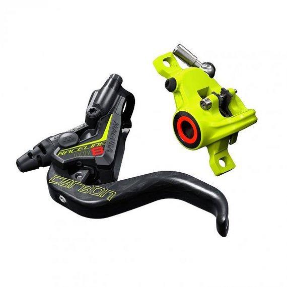 Magura MT8 Raceline, 1-Finger Carbolay-Hebel, links/rechts verwendbar, 2.200mm Leitungslänge, Set VR+HR