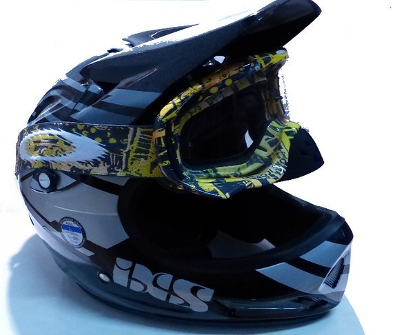 Helm Fullface Dh IXS Mit Goggle von Oaklay