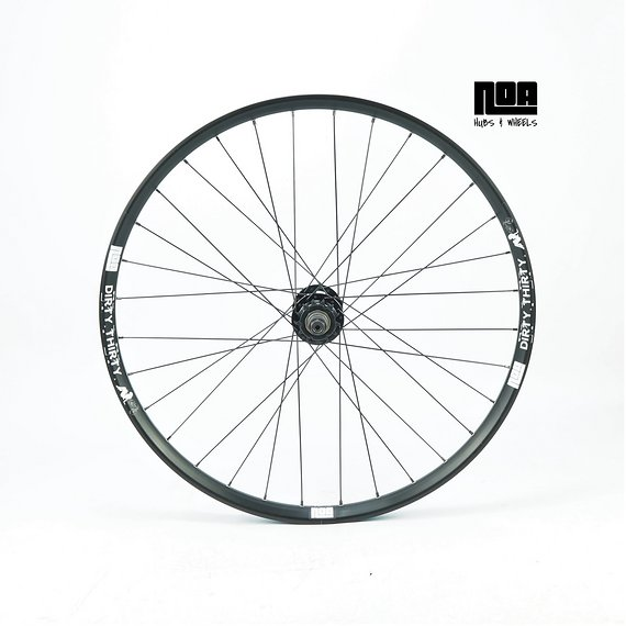 "Noa DIRTY THIRTY Singlespeed Hinterrad 26"" mit Noa 120 Klicks Nabe / Bike-Lädle Laufradbau / Noahubs"