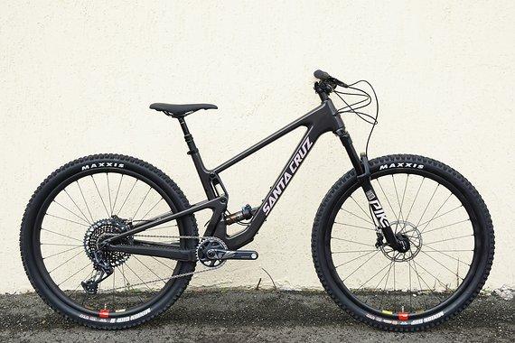 Santa Cruz Tallboy Carbon CC X01 Reserve Glossy Black and Gypsum Modell 2021